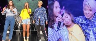 Krystal、Amber驚喜現身演唱會 Luna和粉絲一起淚崩