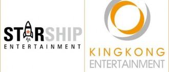 Starship Ent. 與 KINGKONG Ent. 合併