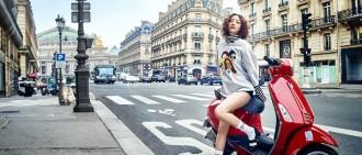 具荷拉最新寫真發布 巴黎街頭展酷炫魅力