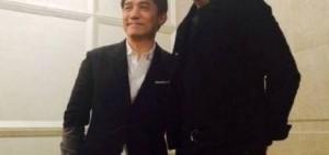 金宇彬-梁朝偉新舊時代男神的會面,以前就是梁朝偉的……