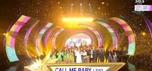EXO憑借「Call Me Baby」狂攬11個冠軍