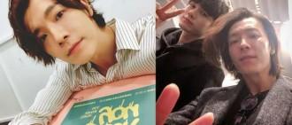 粉絲超驚喜!Super Junior東海曬與邕聖祐合照