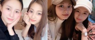 港台美女的友情!CLC Elkie分享素顏合照為子瑜慶生