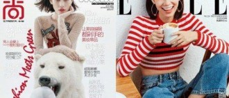 水原希子不愧大勢 同時登上兩雜誌封面