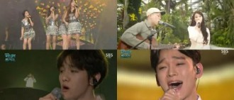 SBS歌謠大戰雖然事故不斷 但收視率卻節節攀升