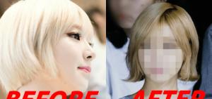 10張 被網友盛讚的AOA Choa新髮型相片