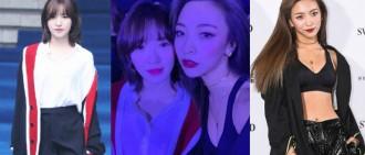 半年的差距!Luna、Wendy出席時裝周打扮引話題
