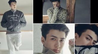 EXO世勳男人味十足的時尚畫報公開,充滿氣魄的氛圍