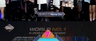 Wanna One《M!Countdown》奪冠 累積8座冠軍