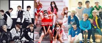 韓網友承認以下這些K-POP組合中所有成員也具有才華和實力