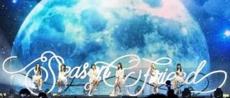 Gfriend亞洲巡演中國香港場完美落幕,最美不過這片彩虹海!