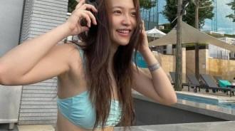 薄荷泳裝清涼派性感!Red Velvet成員YERI曬泳裝照