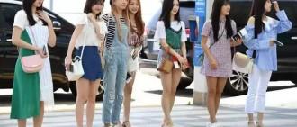韓女團成員到台灣的穿搭!你覺得誰的搭配更出彩?