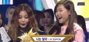 HI SUHYUN獲得人氣歌謠1位