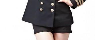 Apink的製服大長腿!海戰女神們的水手服誘惑
