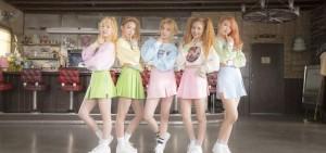 Red Velvet《Ice Cream Cake》MV公開36天點擊突破1100萬