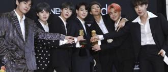 防彈奪Billboard「最佳團體」 RM:讓我們一起做最好的夢