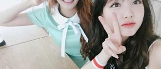 SONAMOO娜玹-TWICE娜璉,好友自拍公開「cheer up我很喜歡你」