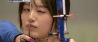 歷屆《偶像運動會》中,射箭打破鏡頭獲得滿分10分的女偶像們!