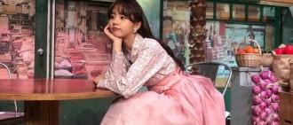 [星聞]李惠利公開身穿粉色韓服近照,網友們紛紛留言反應熱烈