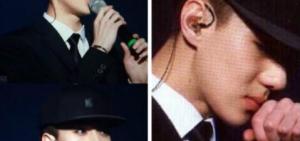 EXO演唱會世勛不慎受傷 因未能完美演出而哭泣