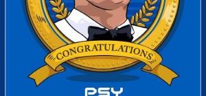 PSY《Gentleman》MV點擊破8億 YG搞笑慶祝高人氣