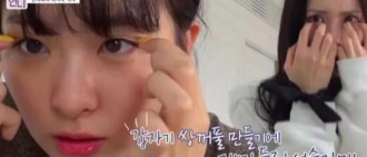 單眼皮女偶像自製雙眼皮!網友:這事我也乾過