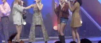 下半身失蹤了?MAMAMOO頌樂一張安可舞台照片嚇壞韓國網友!