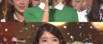 IU奪《人氣歌謠》冠軍獎杯 致謝G-DRAGON助陣新曲