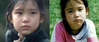 《我的大叔》演IU童年的小演員,與小時候的IU長得超像?