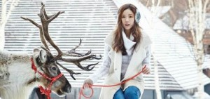 申世京最新《allure》畫報,雪天使的降臨!
