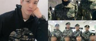 鄭容和完成新兵訓練自願進入「不死鳥部隊」,粉絲為他加油打氣!